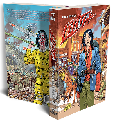 Lilith vol 2 Red Dragon Publisher