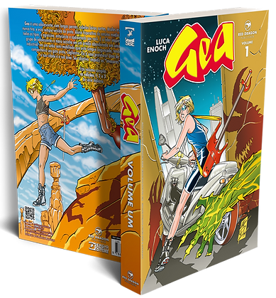 Gea vol 1 Red Dragon Publisher