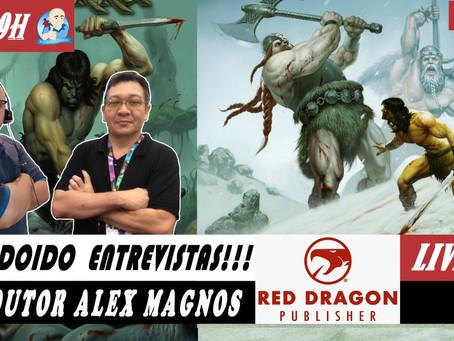 Prof. Lúdico entrevista Alex Magnos