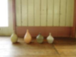 陶器、 陶芸、 日本、yuka ando, ceramics, flower vase, handmade, pottery
