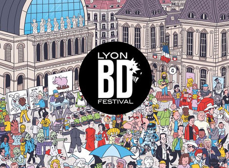 La 14e édition Lyon BD Festival, un évènement BD à découvrir !
