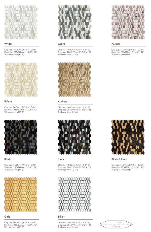Bloom series - full body glass mosaics 2