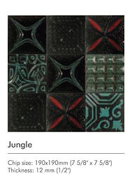 Jungle-Maze-Zen-Rythme series - Decor Ti
