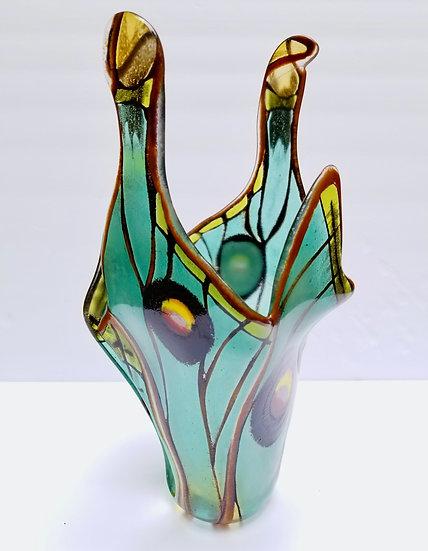 Large Spanish Luna Vase