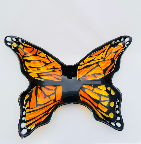 Monarch Butterfly Bowl