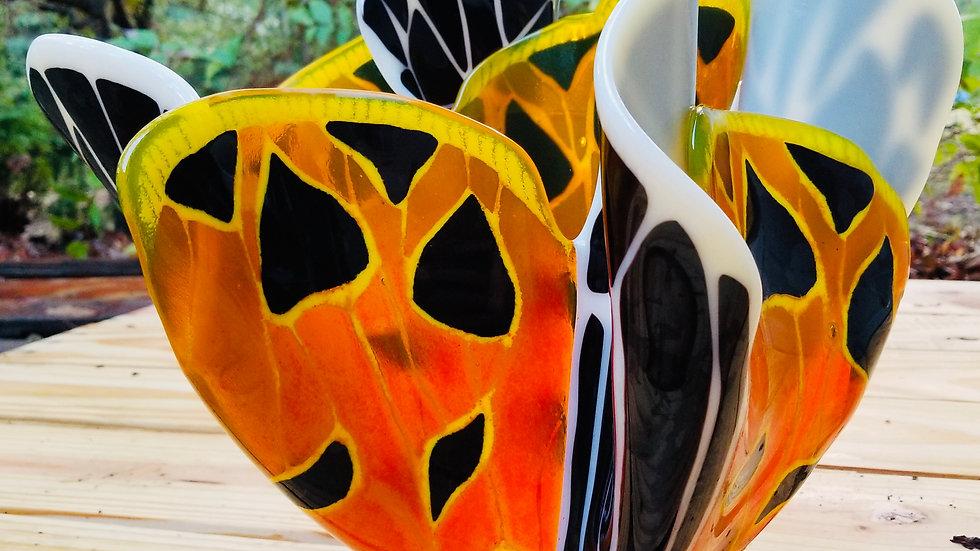 Virgin Tiger Moth Vase