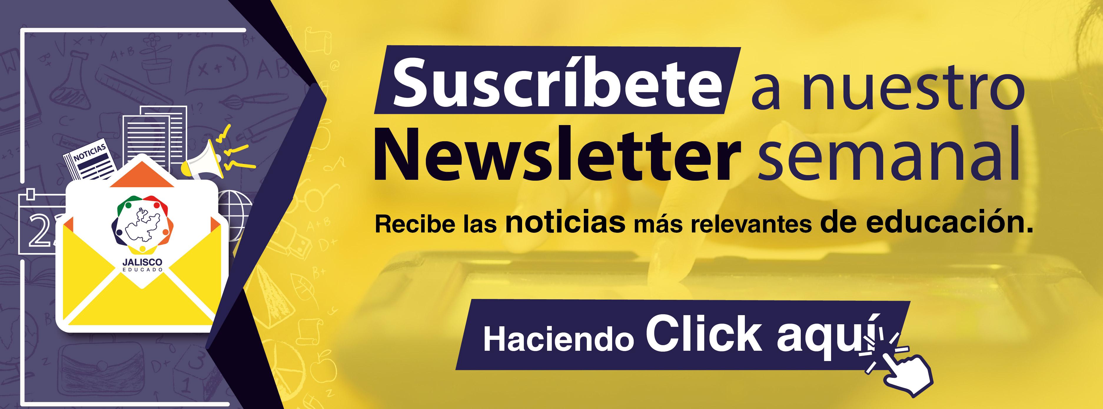Suscripción Newsletter