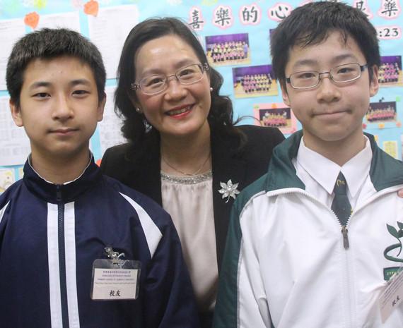 香港普通話研習社科技創意小學 陶校長訪談