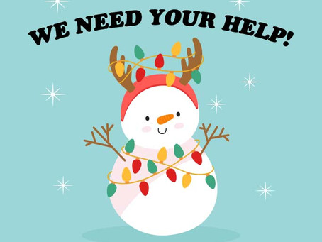 Our staff needs your help!