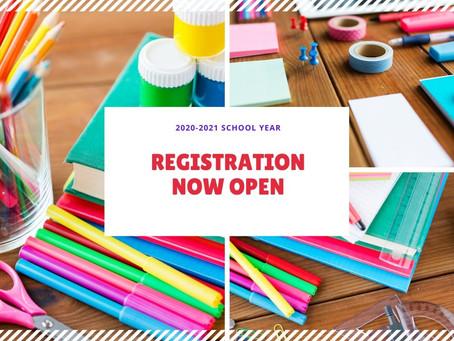 20-21 Registration Information