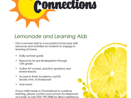 CCSD Summer Connections