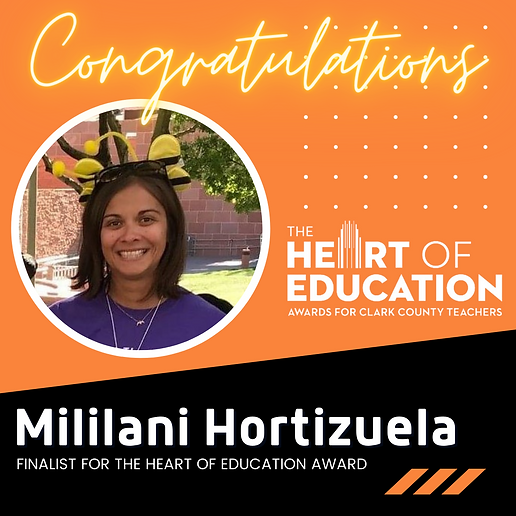 Mililani Hortizuela Award Finalist