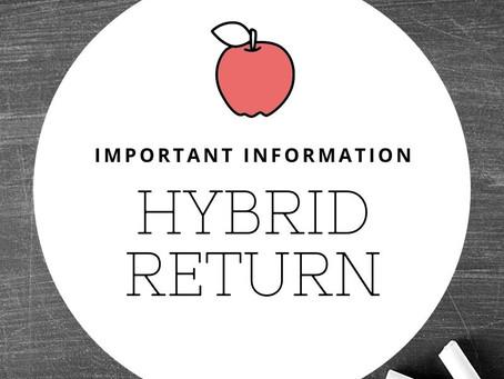 Hybrid Instructional Model