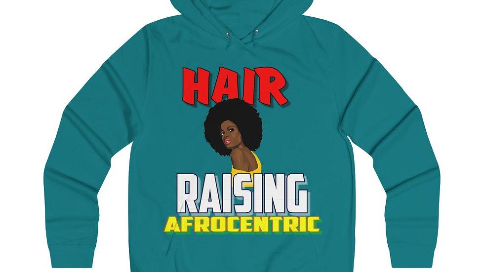 Girlie College Hoodie - Hair Raising Afrocentric