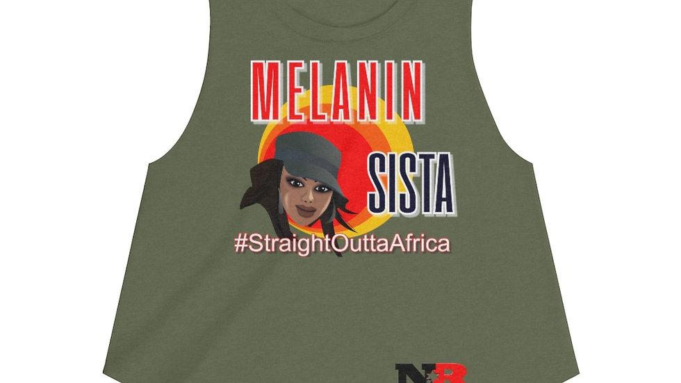 Women's Crop top - Melanin Sista