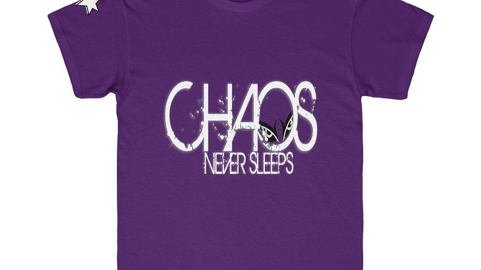 Kids Regular Fit Tee - Chaos Never Sleeps