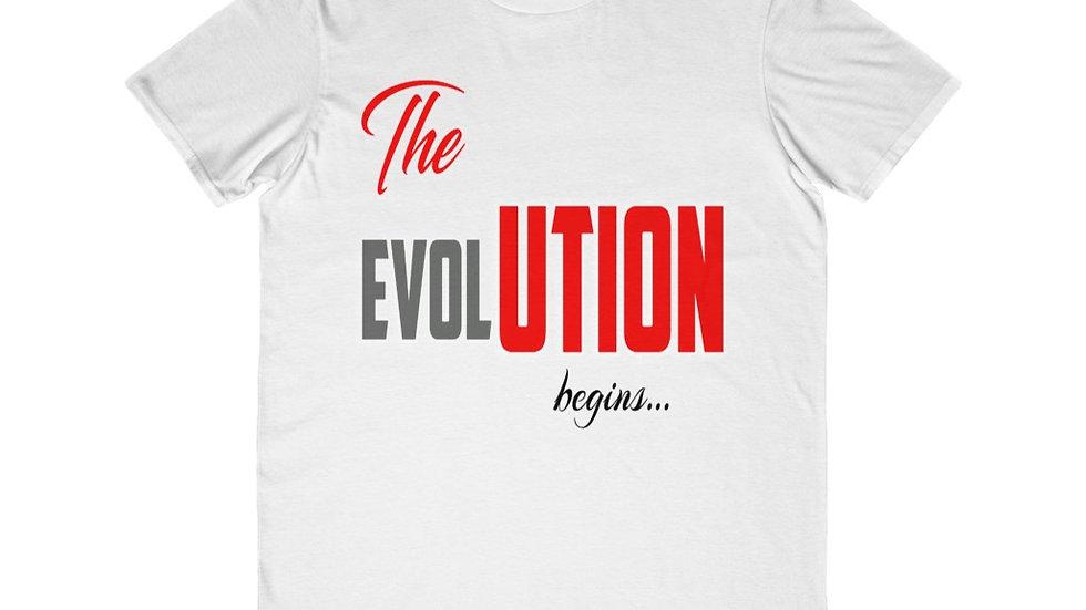 Men's Lightweight Fashion Tee - The Evolution