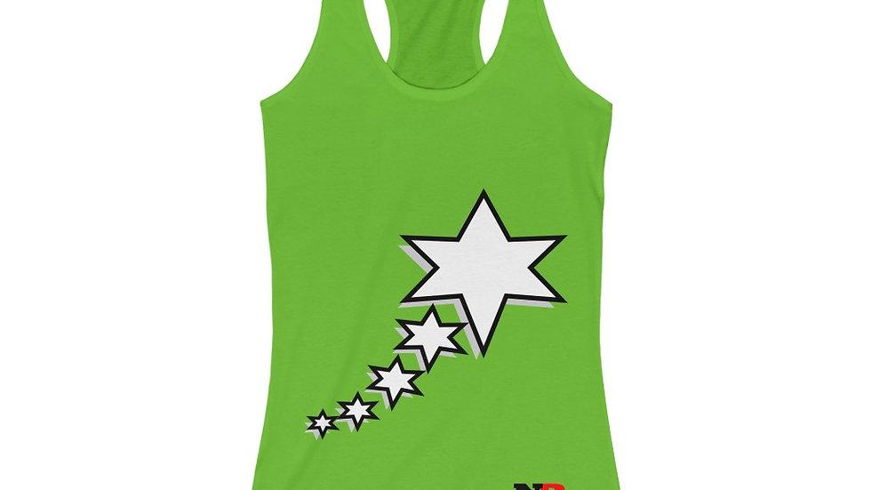 Women's Racerback Tank - 6 Points 5 Stars (White)