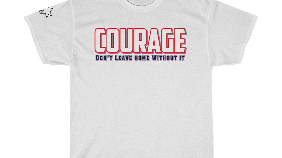 Unisex Heavy Cotton Tee - Courage VII