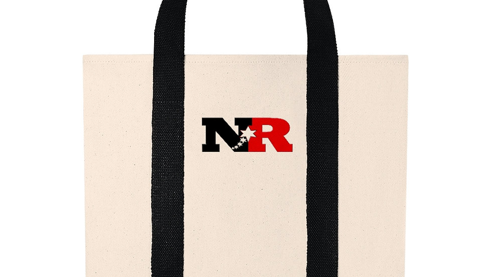 Shopping Tote- Nubian Red (NR)