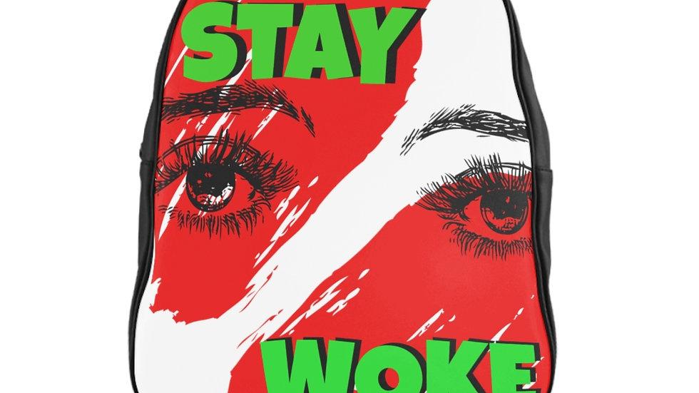 School Backpack - Stay Woke