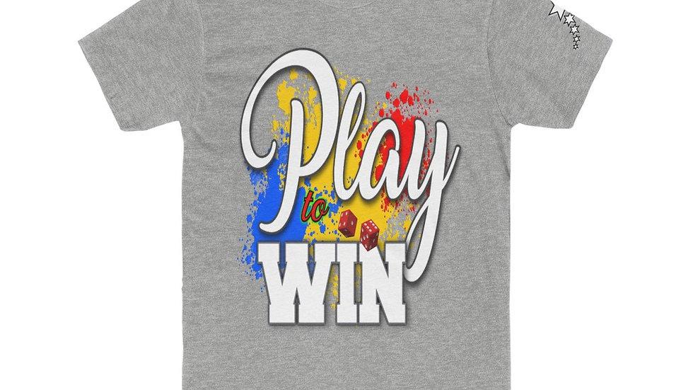 Men's Cotton Crew Tee - Play to Win