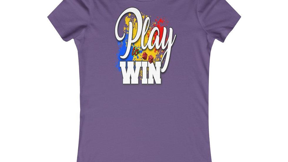 Women's Favorite Tee - Play To Win