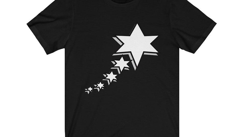Unisex Jersey Short Sleeve Tee - 6 Points 5 Stars (White)