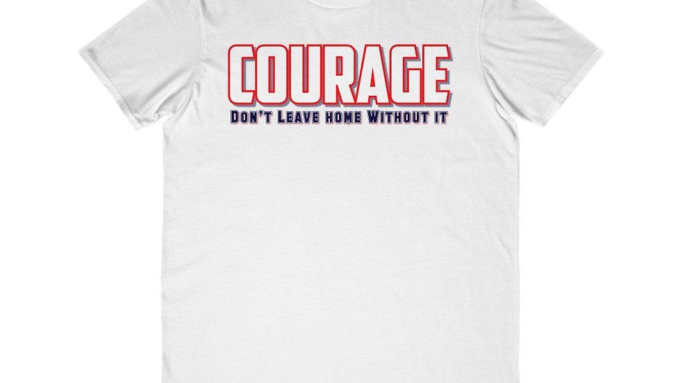 Men's Lightweight Fashion Tee - Courage VII