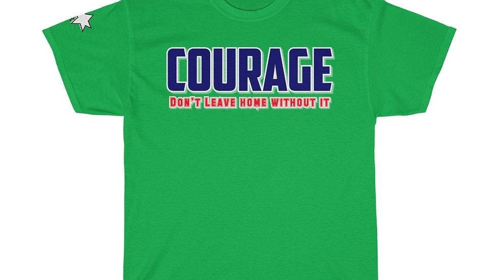 Unisex Heavy Cotton Tee - Courage II
