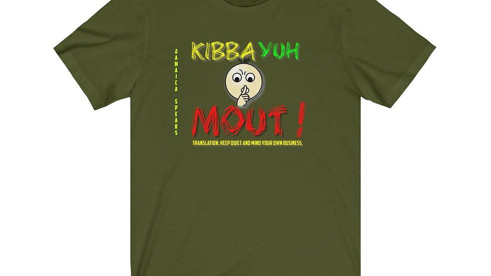 Unisex Jersey Short Sleeve Tee - Jamaica Speaks (Kibba Yuh Mouth)