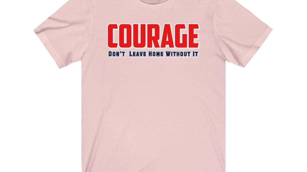 Unisex Jersey Short Sleeve Tee - Courage III