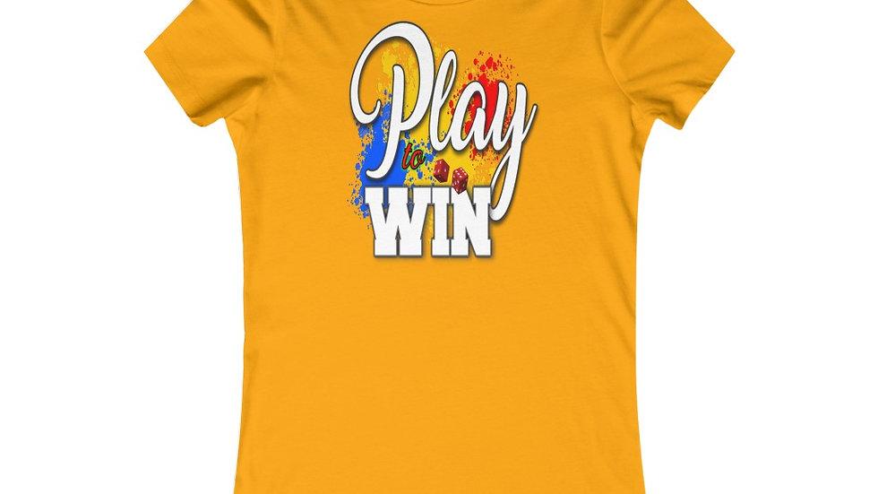 Women's Favorite Tee - Play To Win II