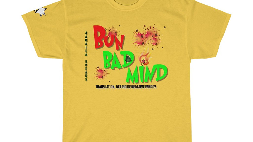 Unisex Heavy Cotton Tee -  Bun Badmind
