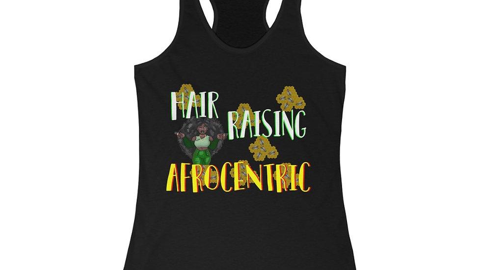 Women's Ideal Racerback Tank - Hair Raising Afro