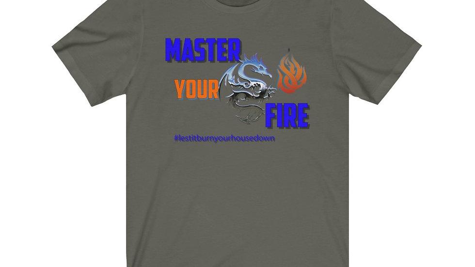 Unisex Jersey Short Sleeve Tee - Master You Fire I