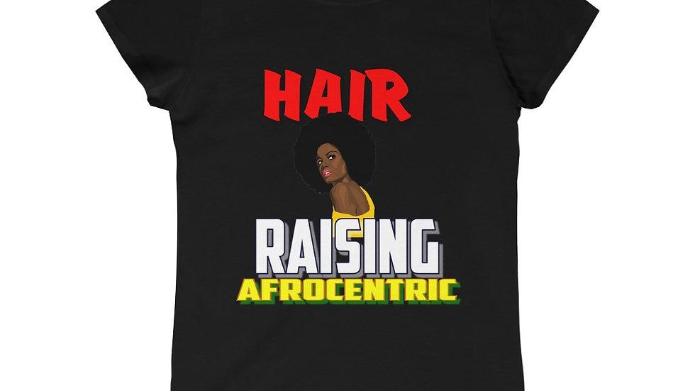 Girls Princess Tee - Hair Raising Afrocentric V
