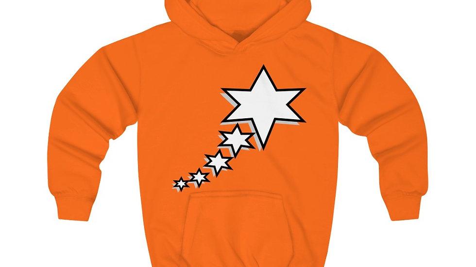 Kids Hoodie - 6 Points 5 Stars (White)