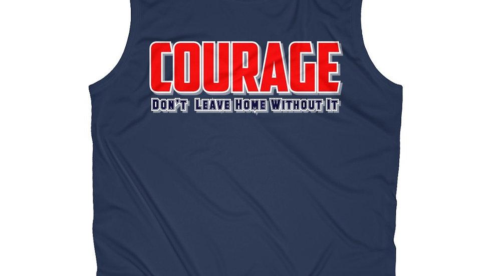 Men's Sleeveless Performance Tee - Courage II