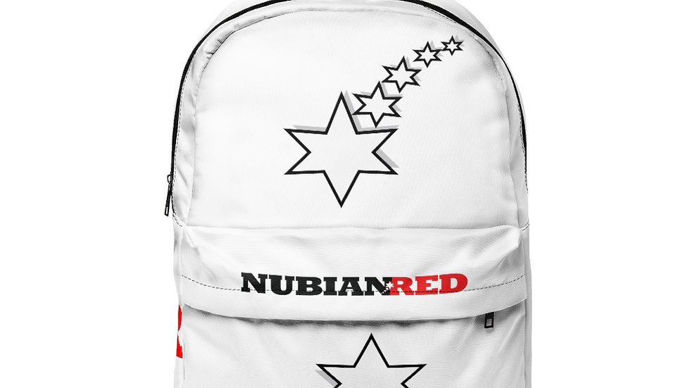 Unisex Classic Backpack - 6 Points 5 Stars (White)