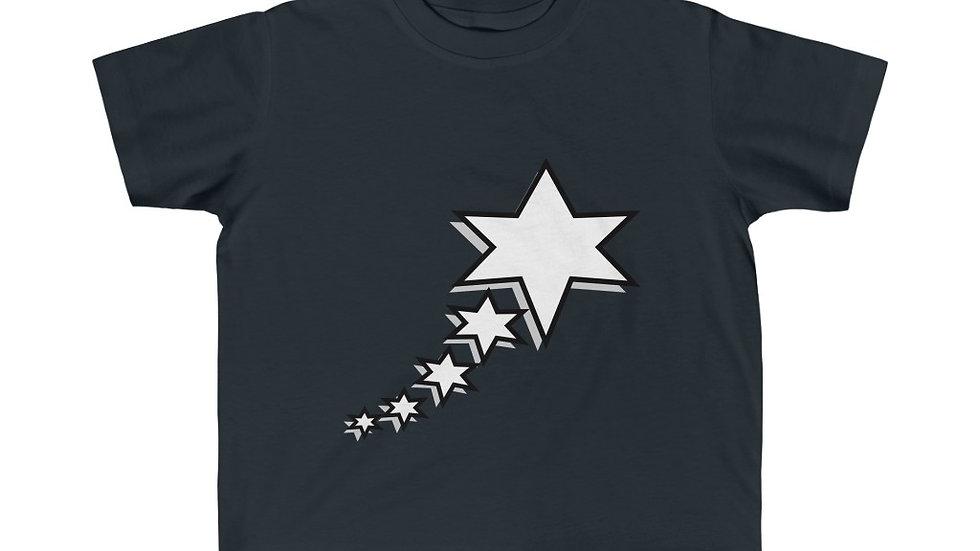 Kid's Fine Jersey Tee - 6 Points 5 Stars (White)