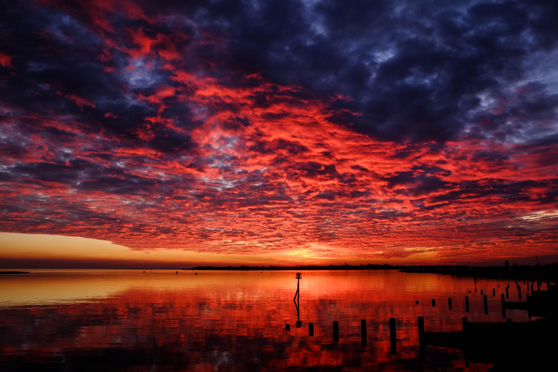 Burning Sea Sky