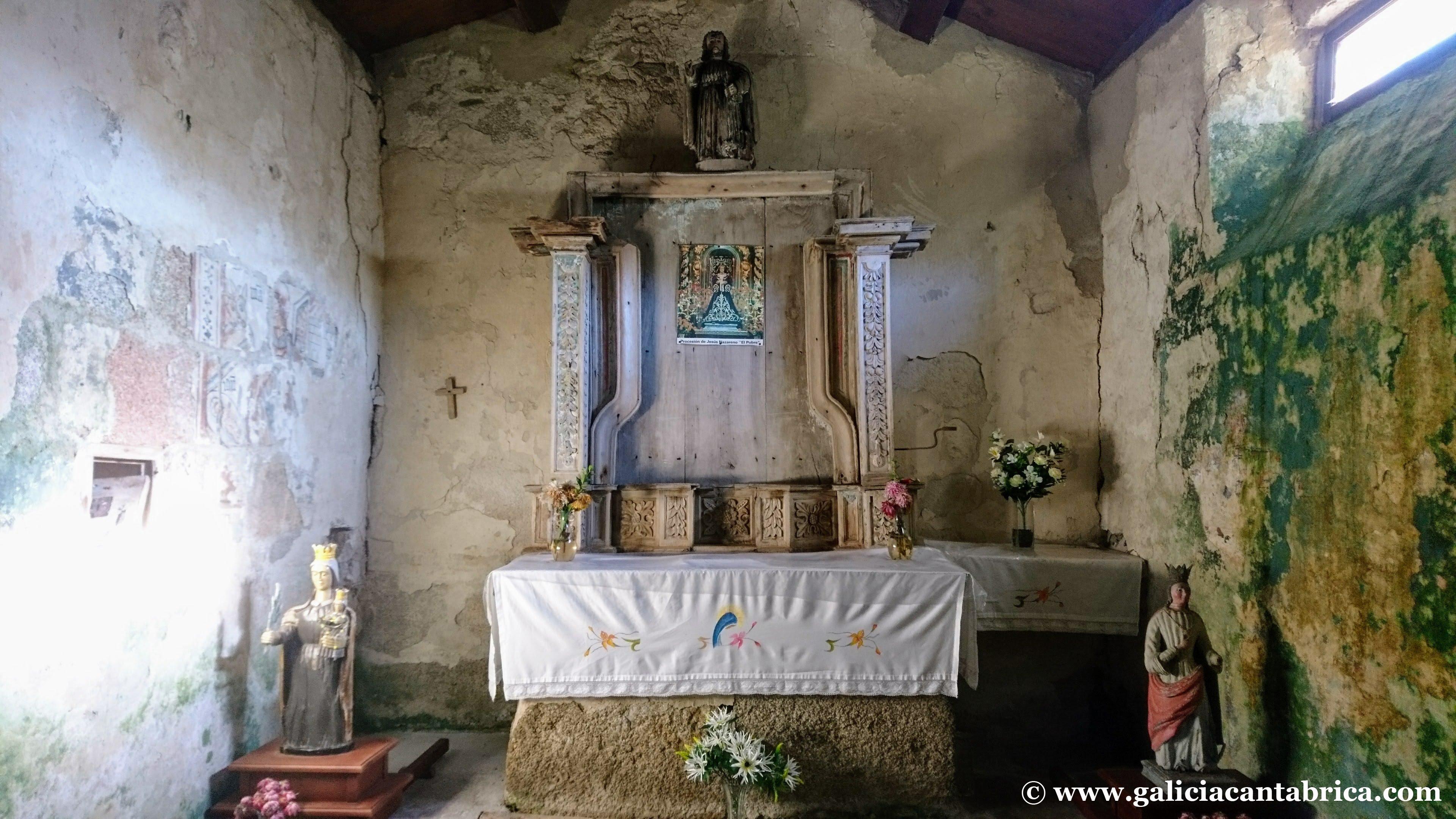 Capilla Santa Filomena del Cadramón.