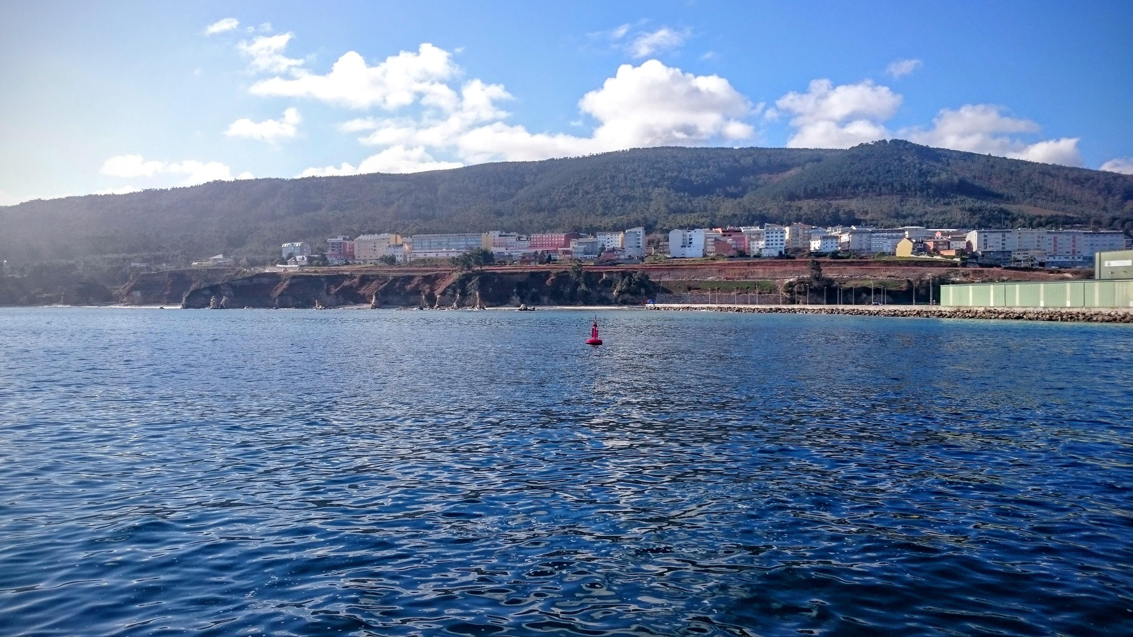 Burela Vista desde el Puerto