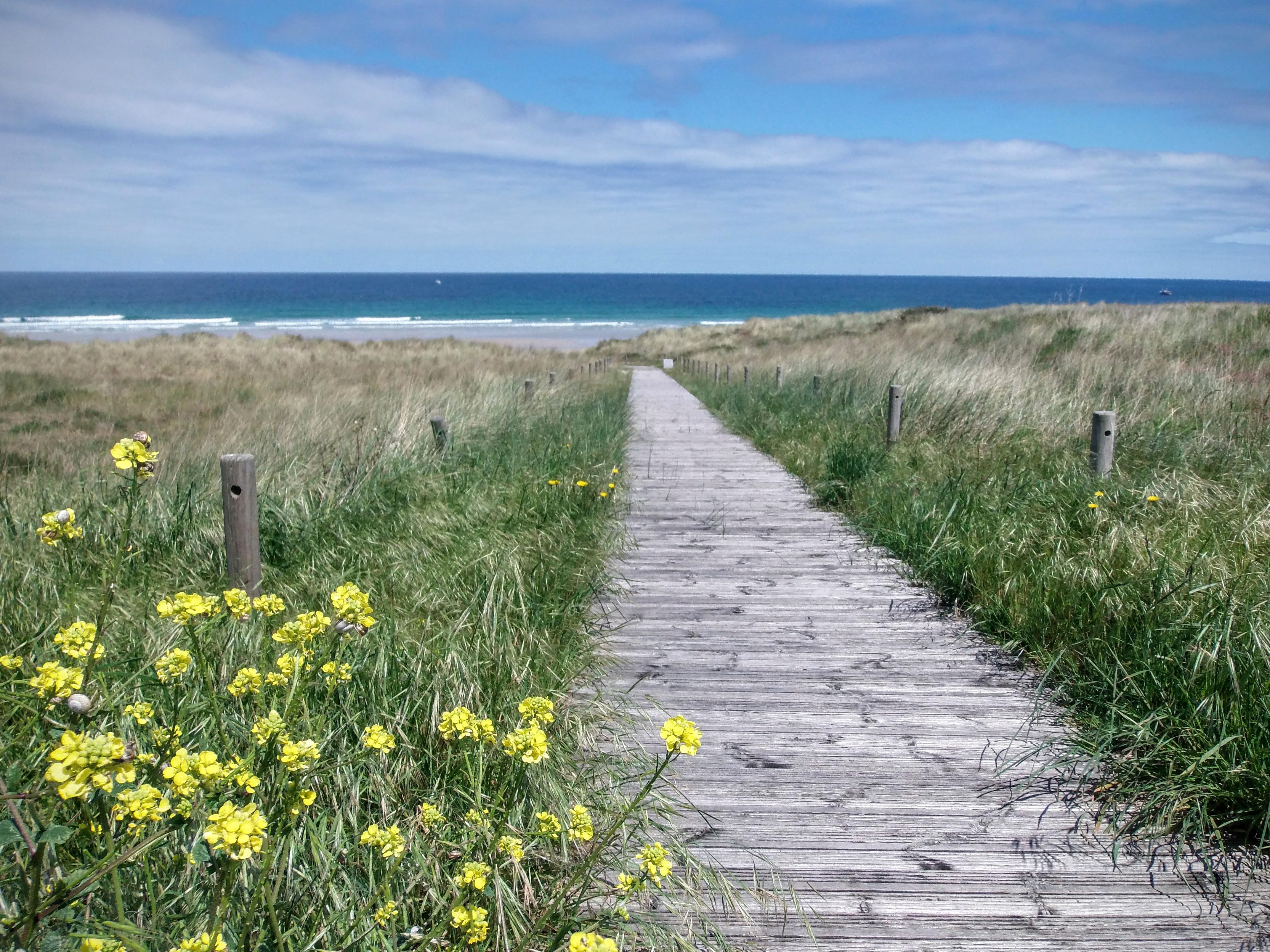 Acceso Playas Barreiros
