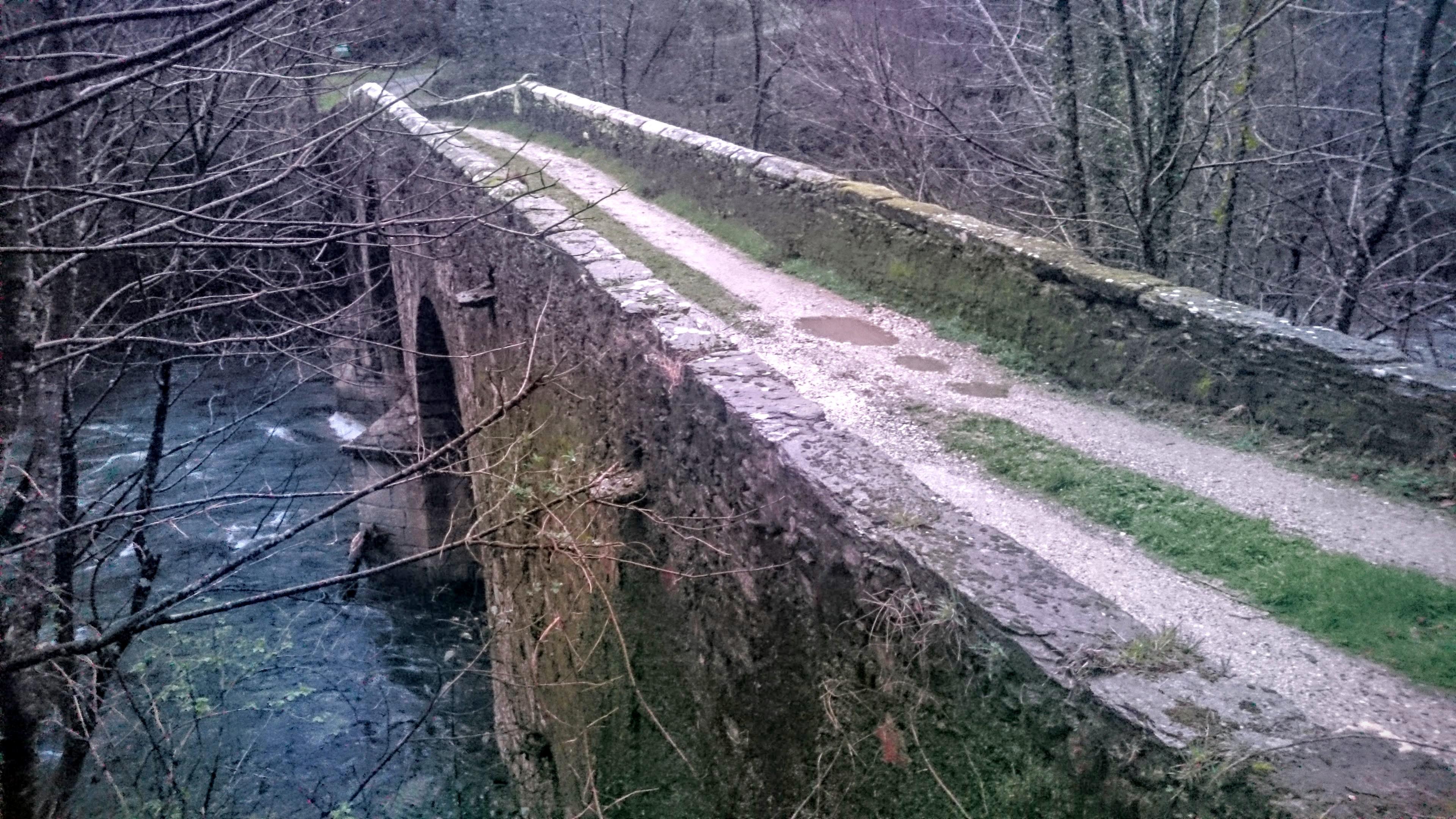 Puente Porto Vicedo Galicia Cantabrica