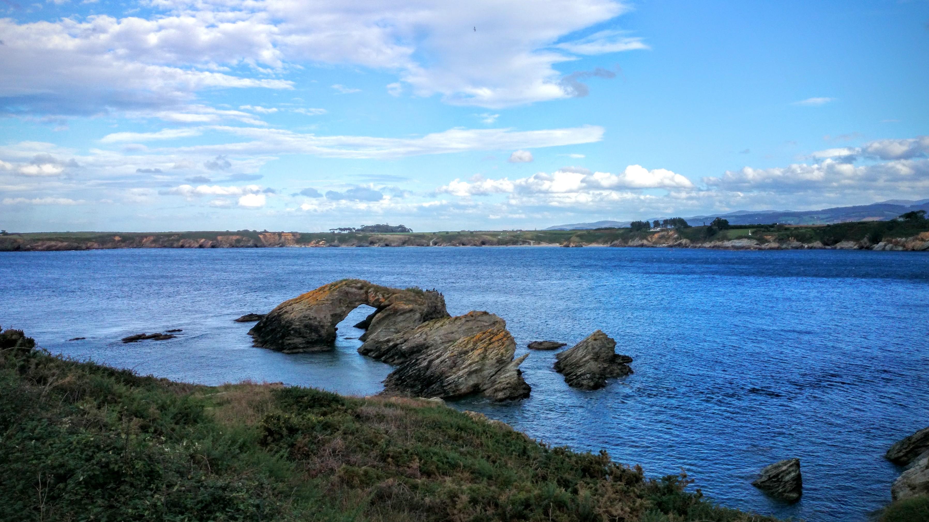 Costa Ribadeo Galicia Cantábrica