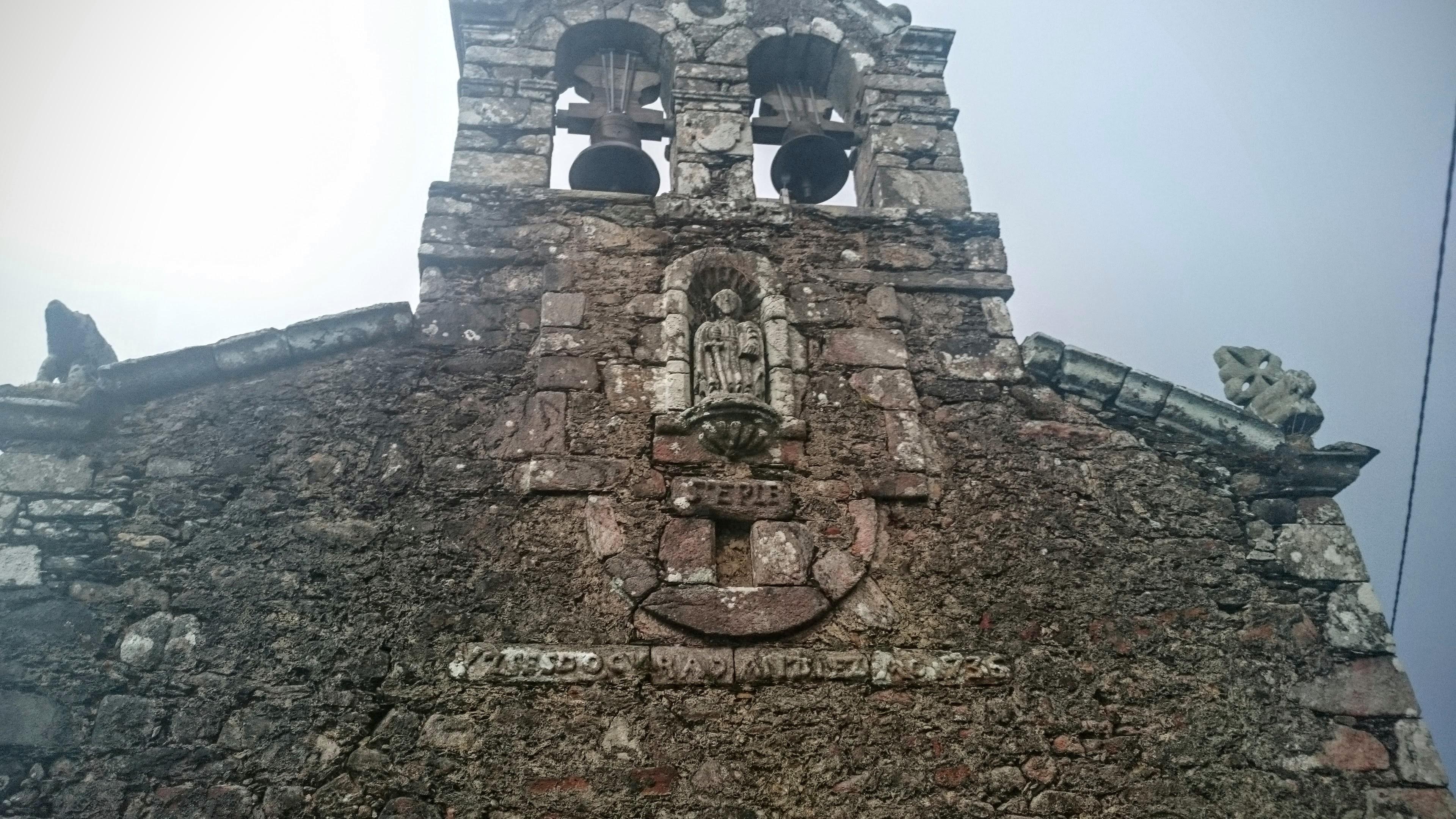 Fachada Iglesia de San Pablo Riobarba O Vicedo