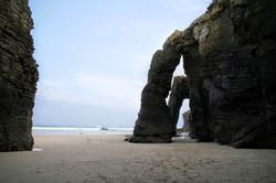 Playa de las Catedrales Ribadeo Galicia cantabrica