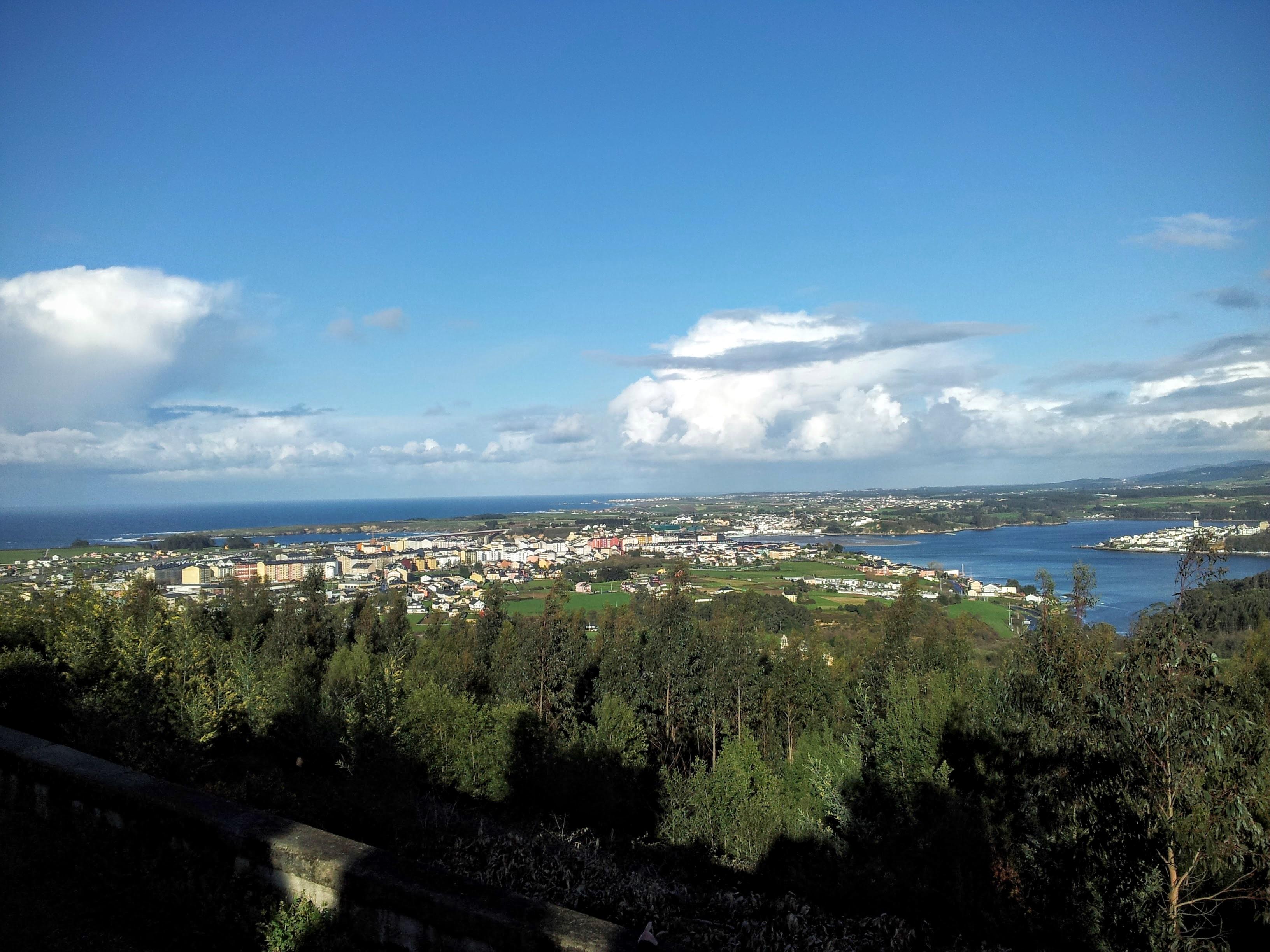 Vista paisajística de Ribadeo